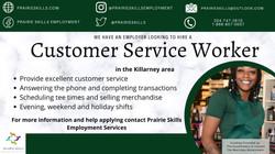 Customer Service Worker