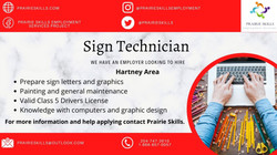 sign technician 1