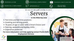 Servers   - Killarney