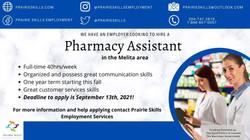 Pharmacy Assisstant