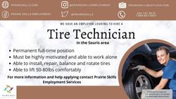 Tire Technician - Souris