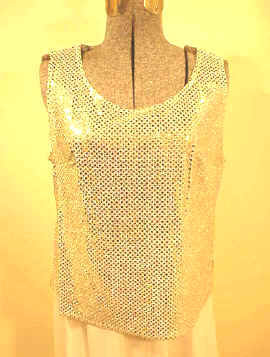 T2164 Sequin Shell