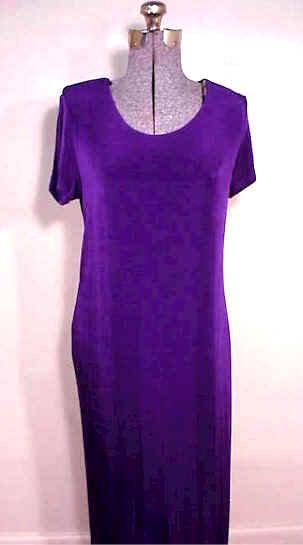 T1653 Short Sleeve Sleeve Acetate Dress