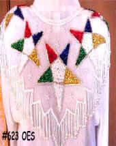 OES Beaded Collar