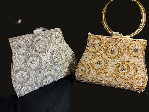 Rhinestone and Sequin Evening Purses