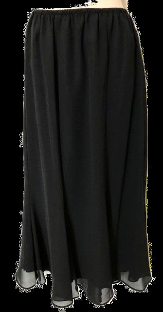 S2348  GeorgetteTrumpet Skirt