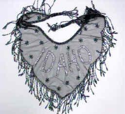 Idaho Beaded and Sequin Collar