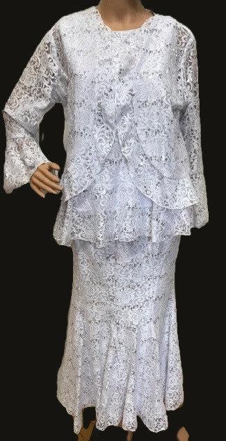 SKaret 5614 3pc  Lace Skirt Set