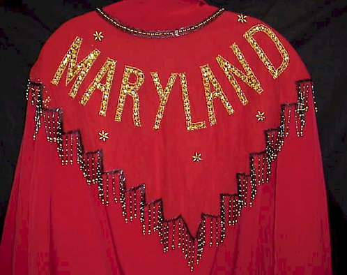 Maryland Beaded and Sequin Collar