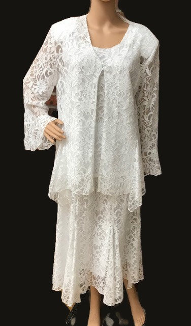 SKaret 1342 3pc Lace Skirt Set