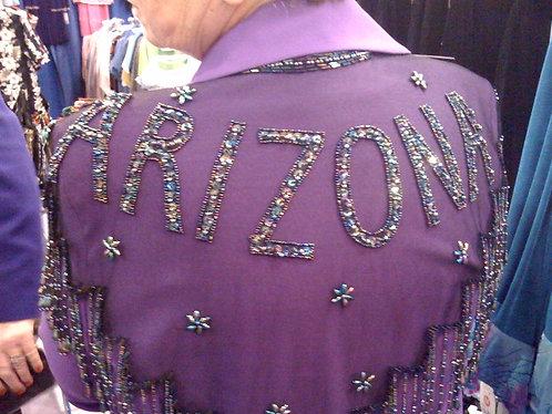 Arizona Beaded and Sequin Collar
