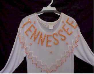 Tennesee Beaded and Sequin Collar