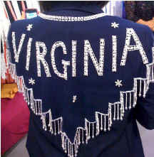 Virginina Beaded and Sequin Collar