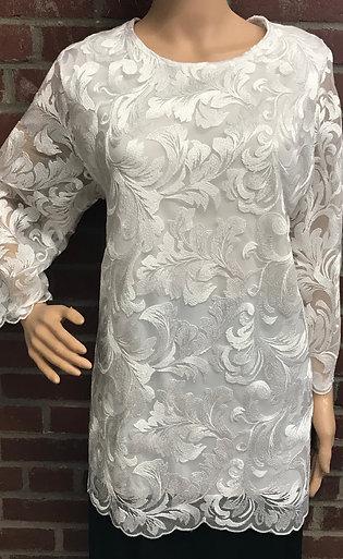 T3557 Designer Lace Blouse