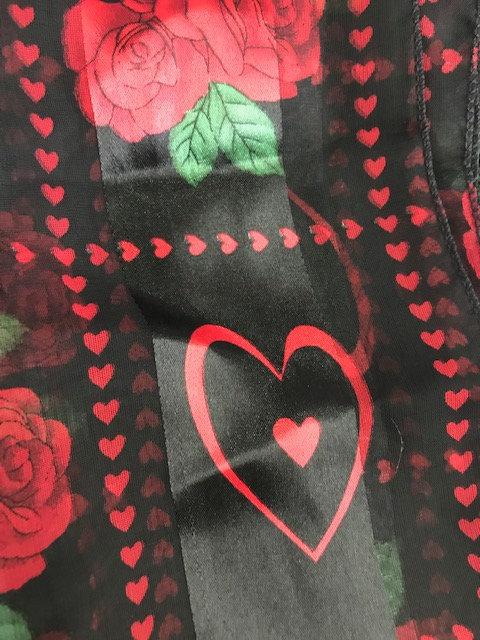 Valentine Scarf~Heart Squares
