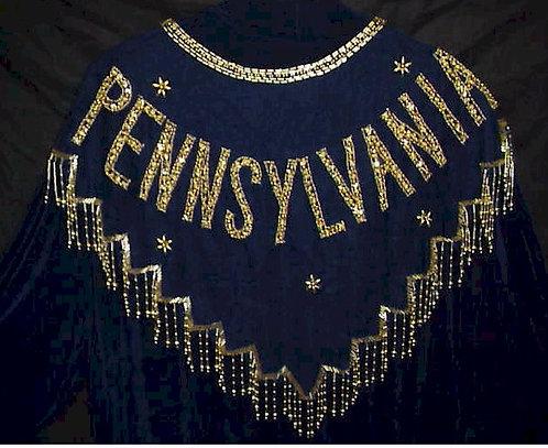 Pennsylvania Beaded and Sequin Collar