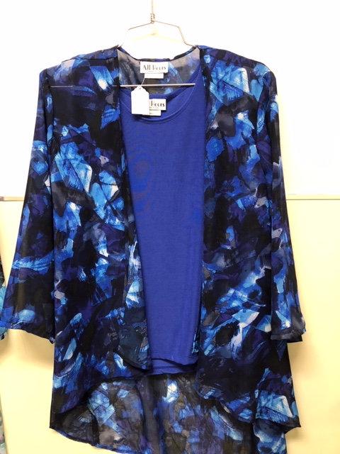 SR 062- 841 Shades of Blue Jacket