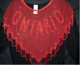 Ontario Beaded and Sequin Collar