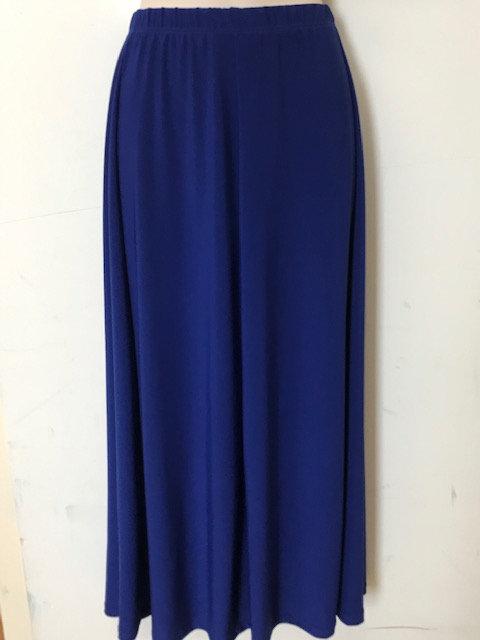 T 1833 6 panel Skirt-ITY fabric