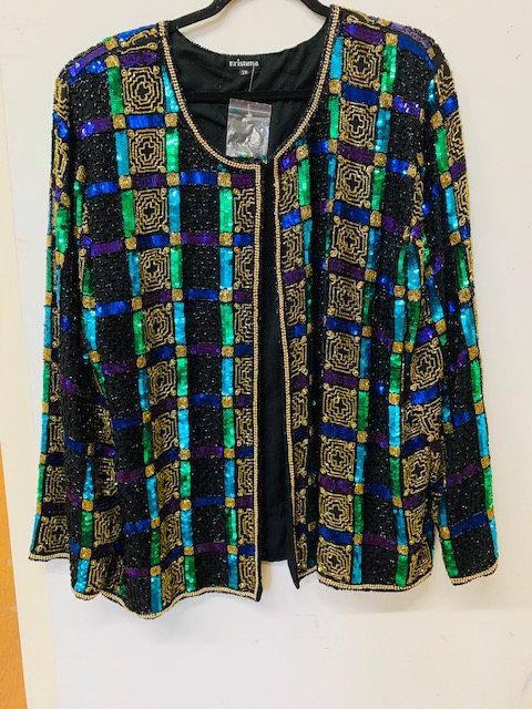 KSQMulti Color beaded Jacket