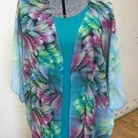 P27 Chiffon Kimono Jacket