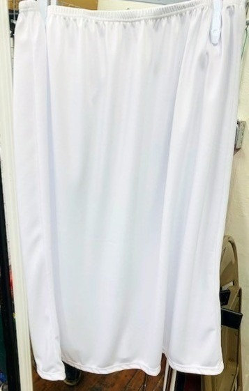 "White Day Length Half Slip 24"" Length"