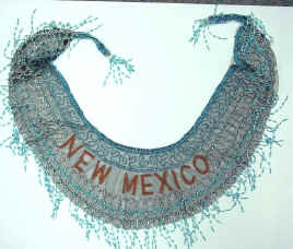 New Mexico Beaded and Sequin Collar