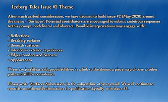 Issue #2 Theme Announcement