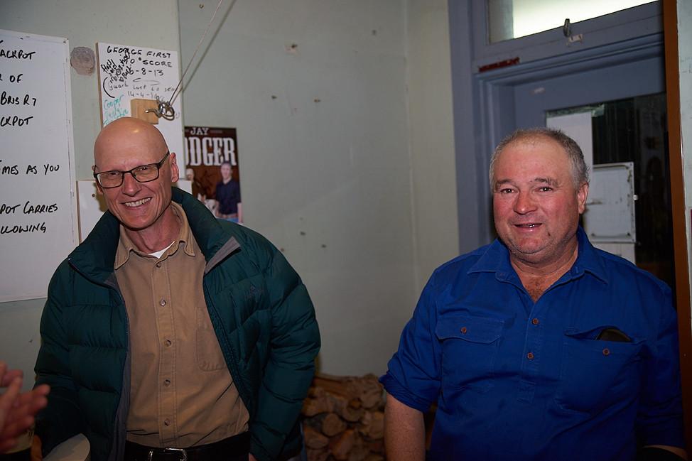 Tony and Scott