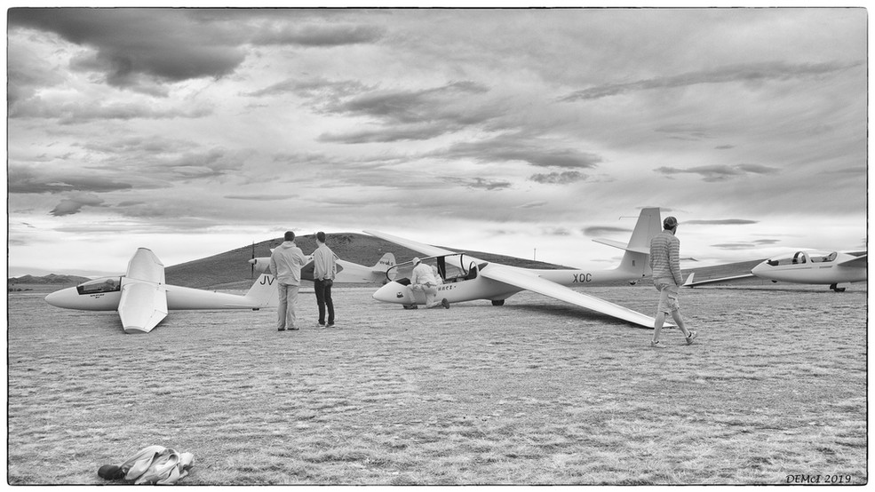 27 Flightline - infared photo