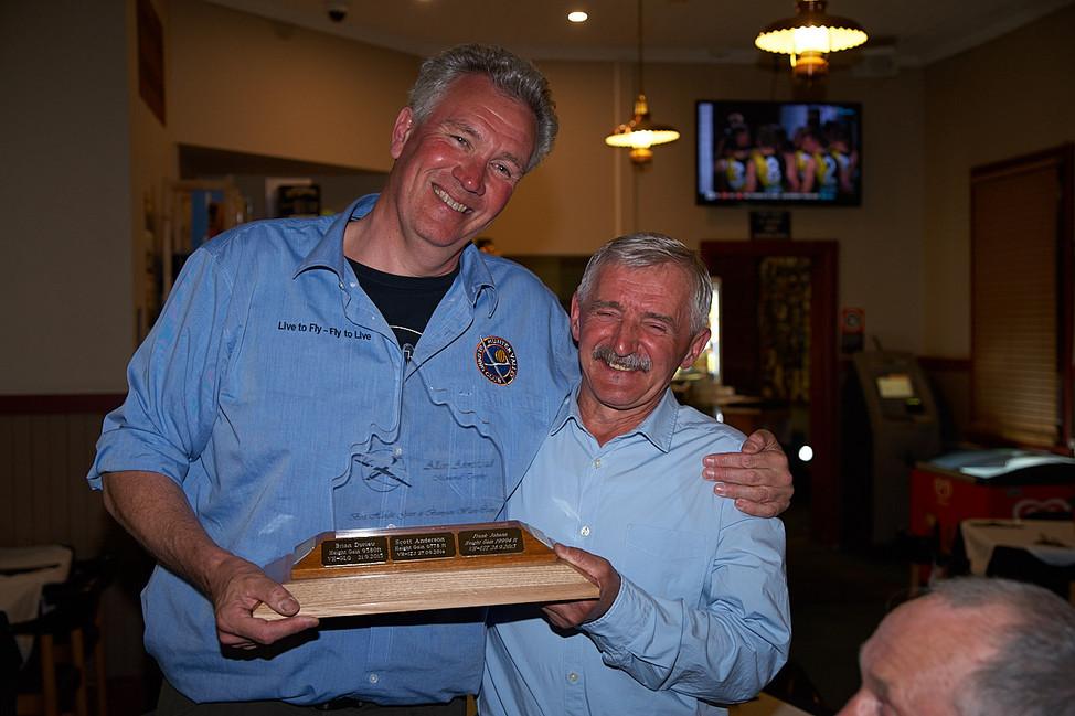 Allan Armistead Trophy winners