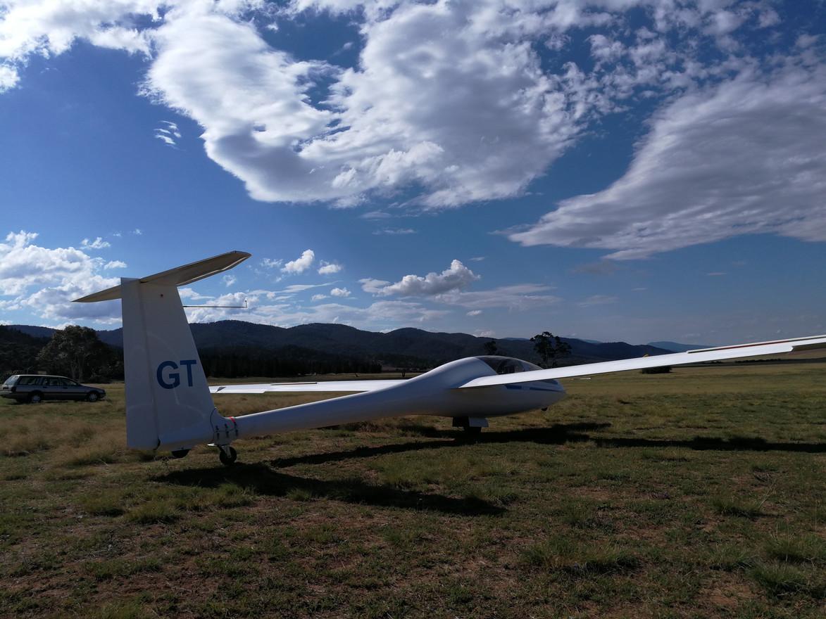DG-1001S, VH-GGT