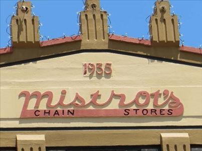 Livingston TX restaurant, Blue Duck in Mistrot Building