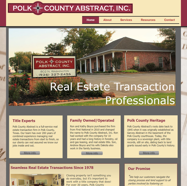 Title Company - Polk County