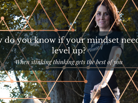 How do you know if your mindset needs to level up?