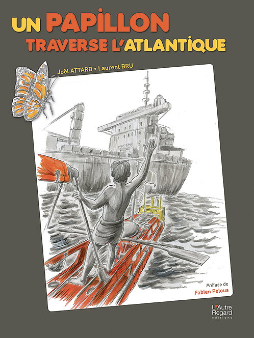 UN PAPILLON TRAVERSE  L'ATLANTIQUE