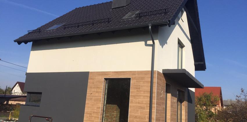 Устройство фасада жилого дома