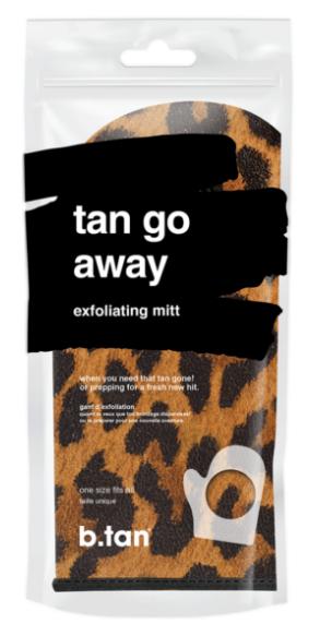 b.tan tan go away exfoliating mitt – Scrub handske
