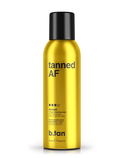b.tan tanned AF 1 hour bronzing mist