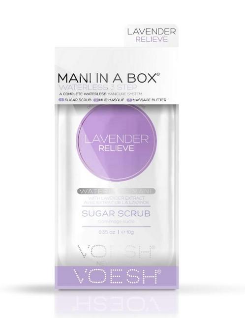 Mani in a box – Lavender