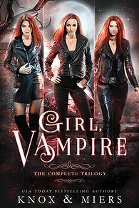 Graceley Knox.Girl Vampire Series.Boxed