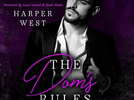 New Audiobooks! The Dom's Rules: A Dark Contemporary BDSM Romance: The Pleasure Wars, Book 2