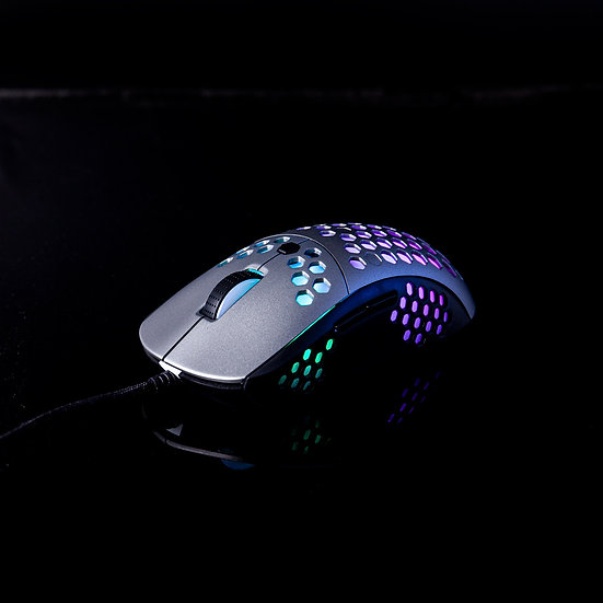 1stPlayer Fire Base M6 Wired RGB Gaming Mouse