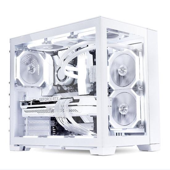 LIAN LI PC-O11 DYNAMIC MINI CASE- SNOW EDITION