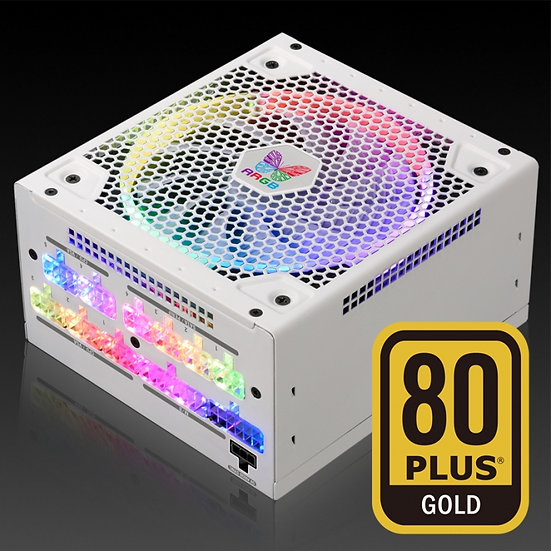 Super Flower Leadex III Gold 850W ARGB WHITE Full Modular PSU