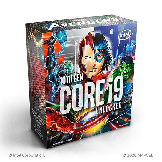 Intel® Core™ i9-10900KA ( 10 Cores / 20 Threads) - AVENGERS EDITION