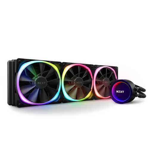 NZXT Kraken X73 RGB - AIO Liquid Cooler With Aer RGB and RGB LED