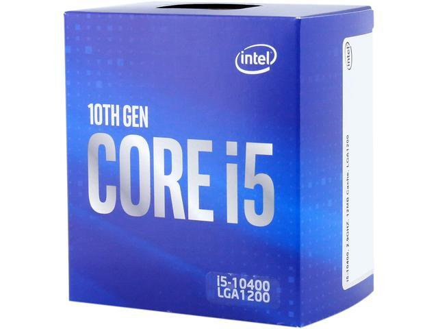 Intel® Core™ i5-10400 @ 2.9GHz