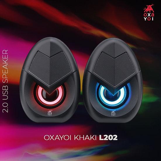 OXA 2.0 Wired Speaker - KHAKI L202