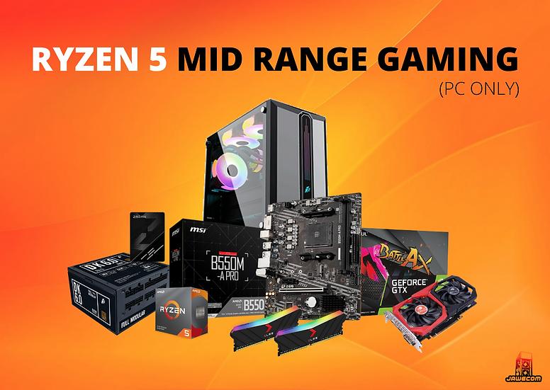 PROMO Ryzen 5 Mid Range Gaming - PC ONLY